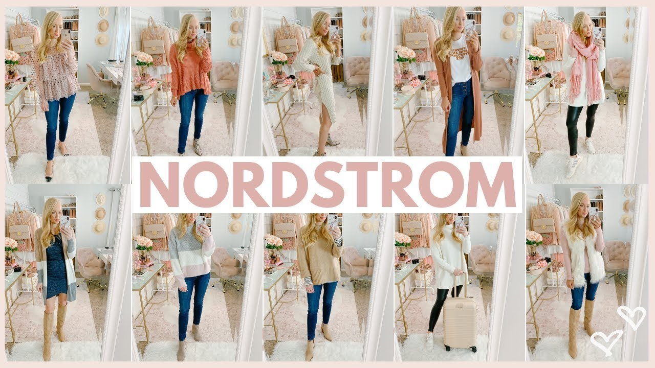 [VIDEO] - 20 FALL OUTFIT IDEAS ?FROM NORDSTROM | HUGE FALL TRY ON HAUL | Amanda John 3
