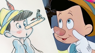 How To Draw Pinocchio | Quick Draw