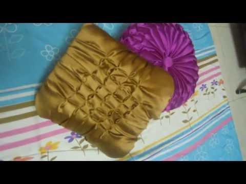 smocking capitone cushion designs