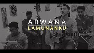 Arwana - Lamunanku ( Acoustic Cover by Daroel Azim Official )
