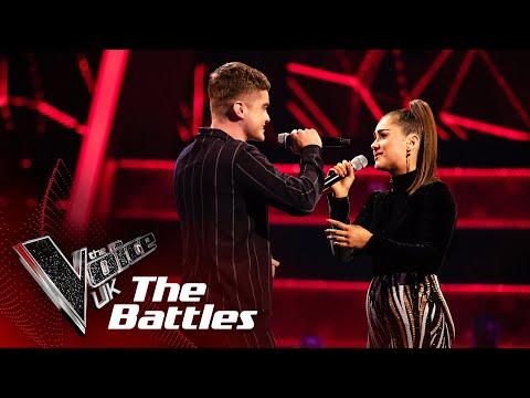 Brooke Scullion VS Jordan Phillips  - 'Water Under The Bridge'  | The Battles | The Voice UK 2020