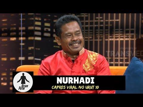 Tanya Jawab NURHADI, Capres Fiktif Nomor Urut 10 | HITAM PUTIH (15/01/19) Part 2