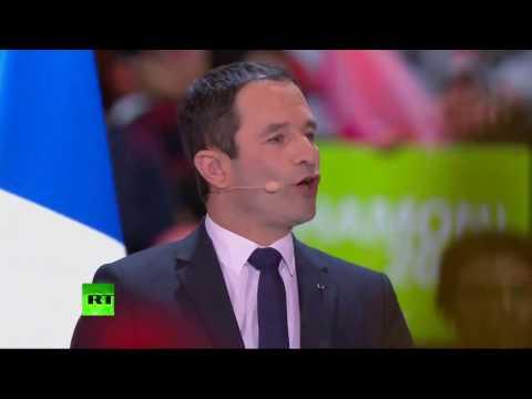 Discours de Benoît Hamon lors de son grand meeting à Bercy (Direct du 19.03)