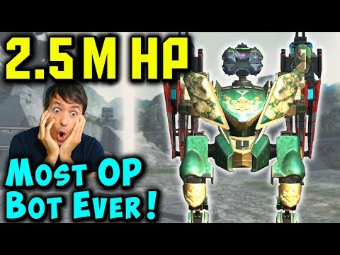 2,500,000 HP FALCON with OP Pilot Skill Traditionalist War Robots Mk2 Gameplay WR