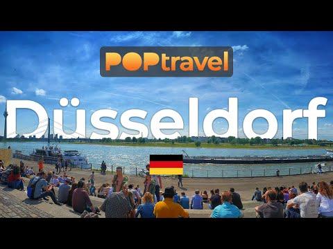 Walking in DÜSSELDORF / Germany 🇩🇪- Central City Tour (2019) - 4K 60fps (UHD)