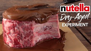 I DRY AGED Stęaks in NUTELLA and this happened!