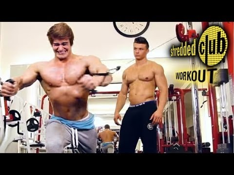 Jeff Seid's SHREDDED CLUB - Day 1 - Chest/Triceps Workout