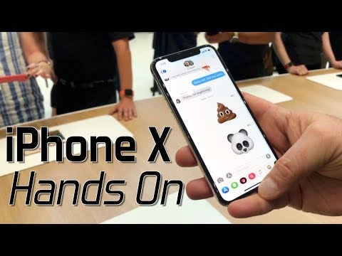 Hands-on with Apple's new iPhone X