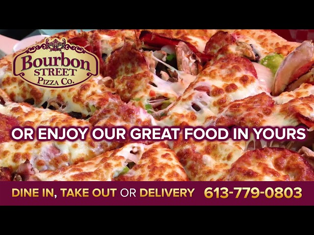 Creative Display - Bourbon Street Pizza