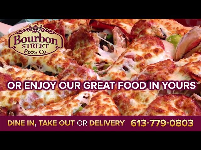 Creative Display - Bourbon Street Pizza