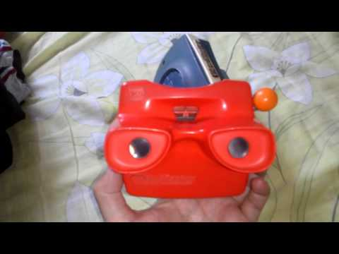 View Master juguete antiguo