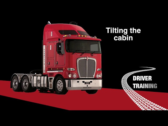Kenworth K200 Tilting the Cabin_ 012