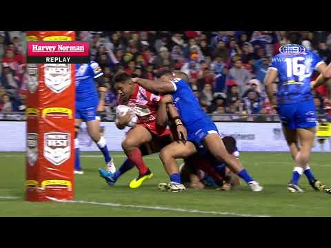 Pacific Test Highlights: Samoa v Tonga