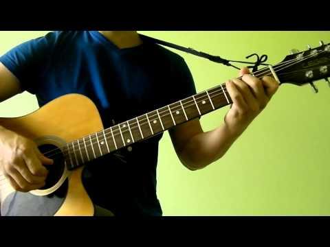 (Beginner Strumming Exercise 1) C G Am F Guitar Chord Progression