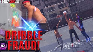 The PURE SLASHER IS BACK! Dribble Fraud Abusing Snatch Backs! NBA 2K18 Playgrounds