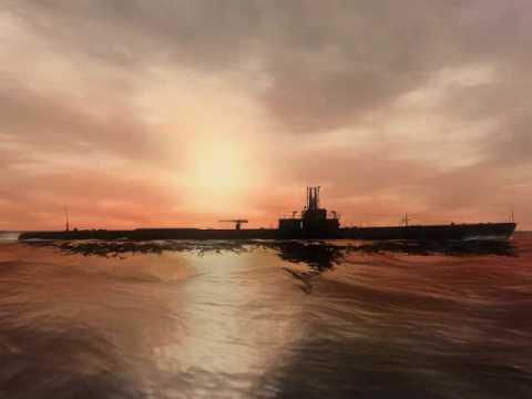 WWII Submarine Art
