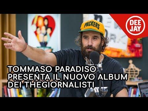 Tommaso Paradiso presenta 'Love' il nuovo album dei TheGiornalisti a Radio Deejay