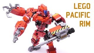 Gambar cover LEGO - Pacific Rim Inspired Jaeger 001 - Stop Motion Build