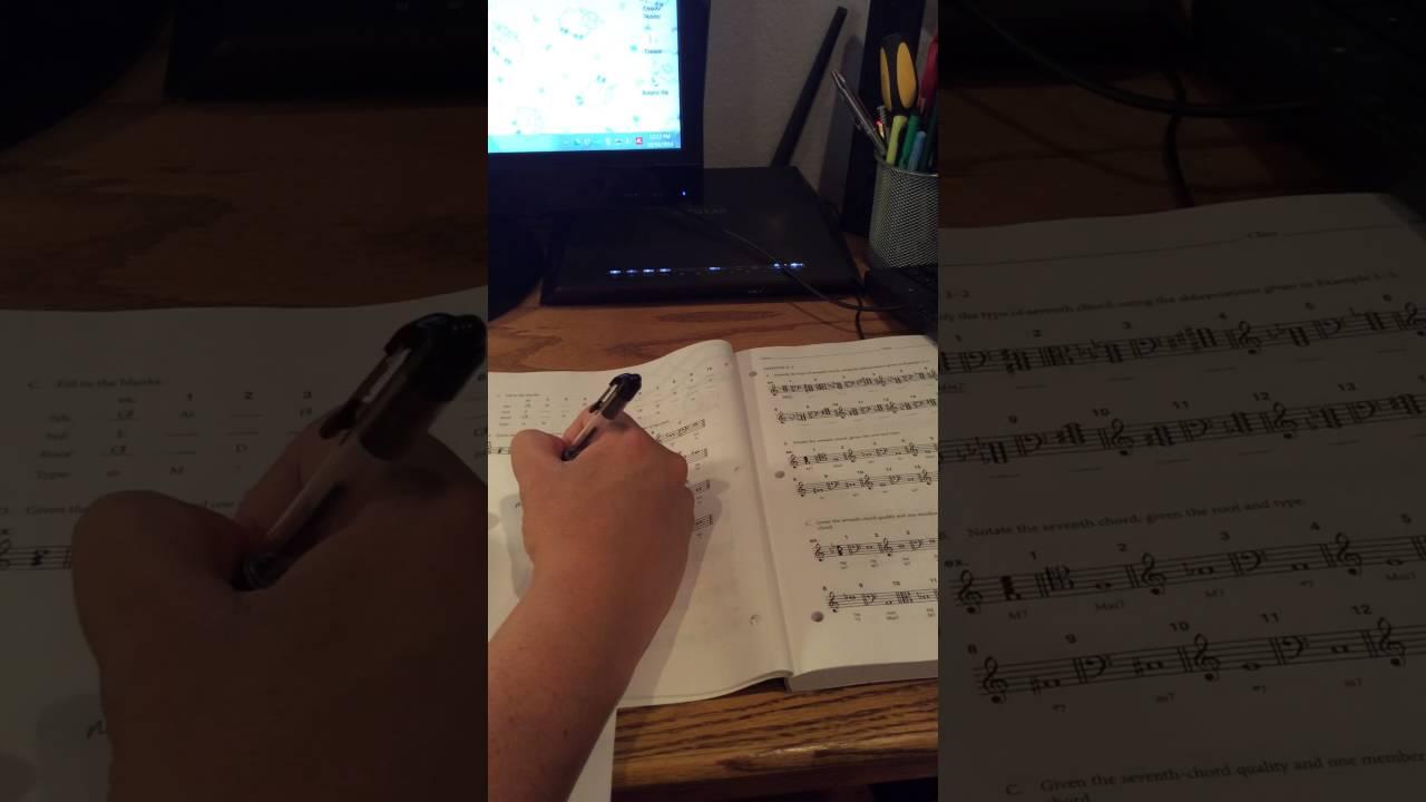 Tonal Harmony Workbook 3-1 - YouTube