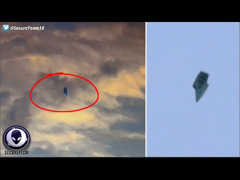 ALIEN TESTING? Stunned Residents See UFO Near Military Base! 5/28/16