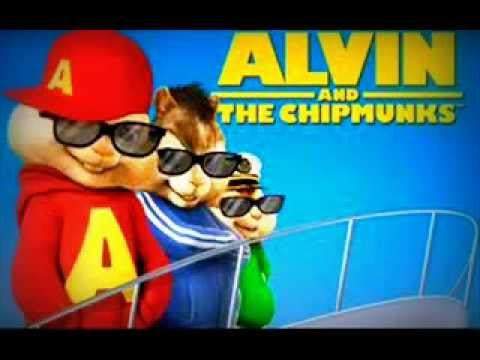Pitbull(feat. Usher & Afrojack)-Party Ain't Over- {Alvin and the chipmunk}