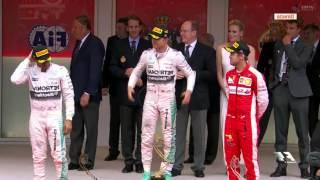 GP Monaco 2015 Podium F1