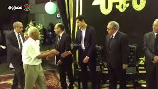 ضياء رشوان وعبد الحليم قنديل في عزاء د. رفعت السعيد