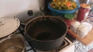 Перец в томатной пасте на зиму