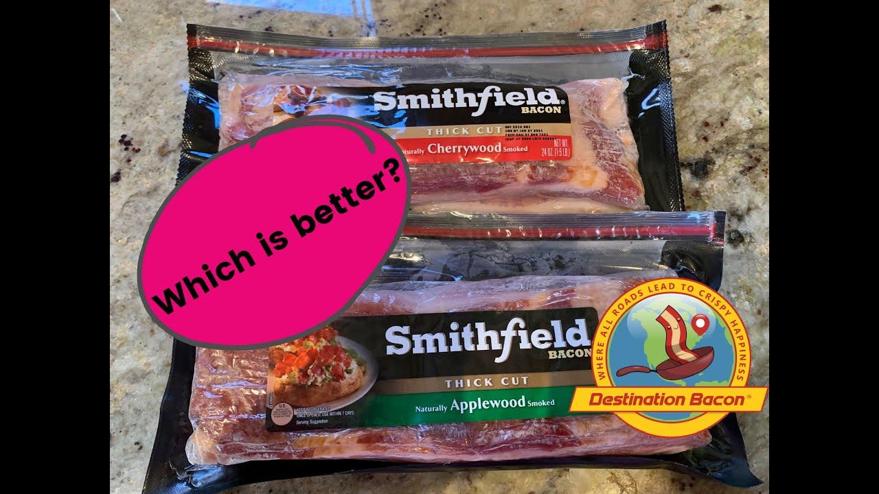 Cherrywood vs Applewood Smoked Bacon