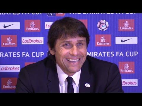 Chelsea 1-0 Manchester United - Antonio Conte Full Post Match Press Conference - FA Cup