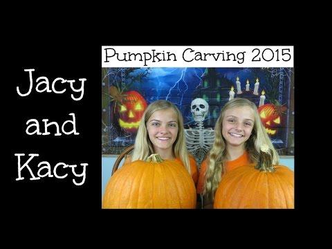Pumpkin Carving Challenge ~ 2015 ~ Jacy and Kacy