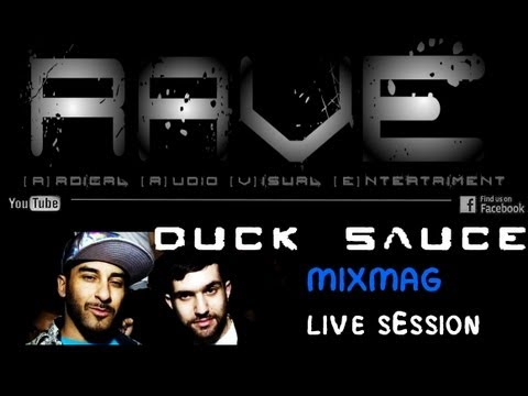 """DUCK SAUCE """"MIXMAG"""" LIVE SESSION 2011 [HQ]"""