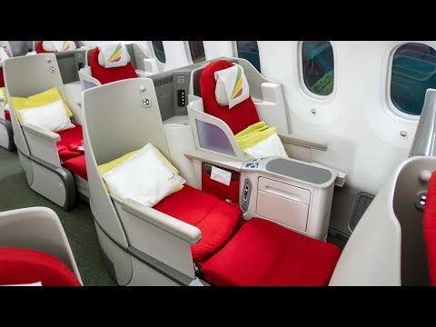 Ethiopian Airlines B787 Dreamliner Business Class Vienna to Dar Es Salaam