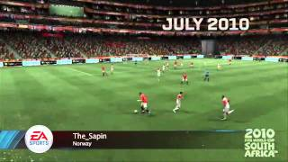 FIFA 11 - Лучшие голы за год