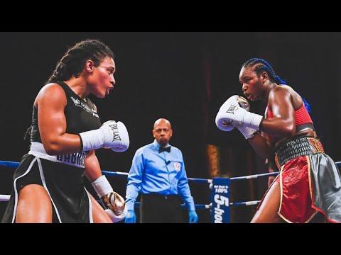 Download CLARESSA SHIELDS VS HANNA GABRIELS FULL FIGHT