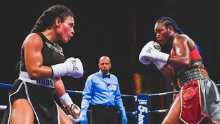 CLARESSA SHIELDS VS HANNA GABRIELS FULL FIGHT