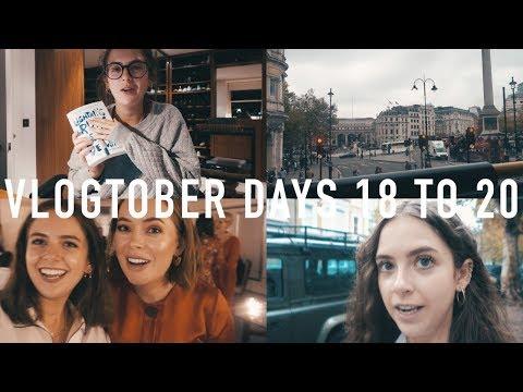 VLOGTOBER 2017 DAYS 18 TO 20: Claridges, Realisations and Bingo | sunbeamsjess