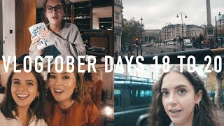 VLOGTOBER 2017 DAYS 18 TO 20: Claridges, Realisations and Bingo | sunbeamsjess thumbnail
