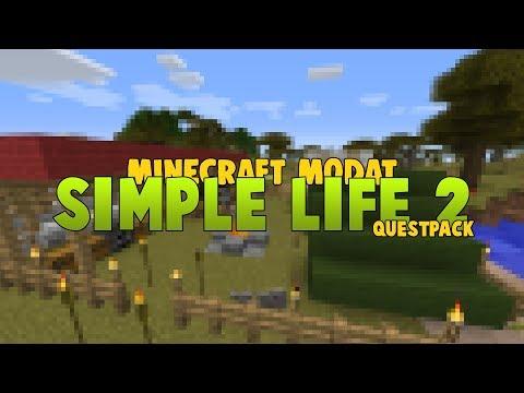 NOUA SERIE DE MINECRAFT MODAT | SimpleLife 2