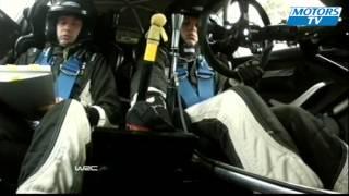 Tänak spins in stage 14 Great-Britain Day 3 WRC 2012