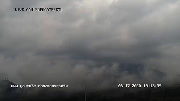 Transmisión del Volcán Popocatépetl 16 de junio 2020