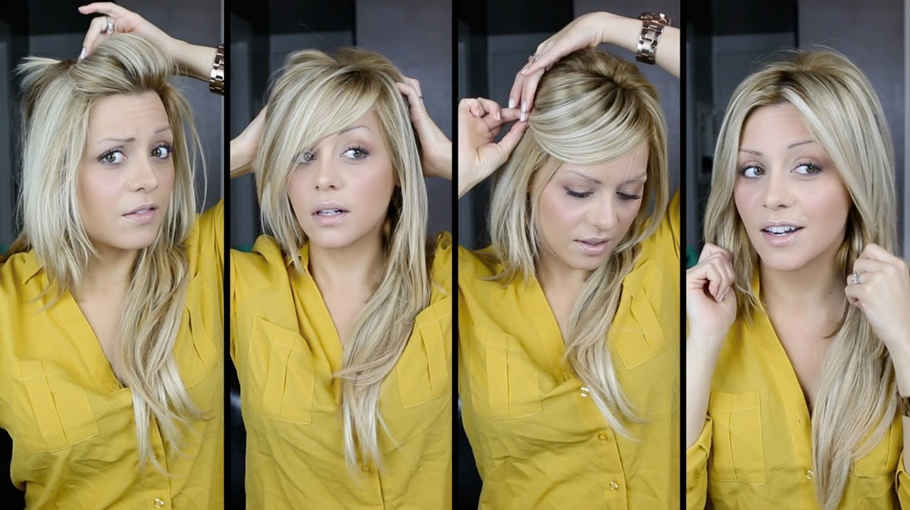 DIY Perfect Bangs Ways Tutorial Video YouTube - Hairstyle diy video