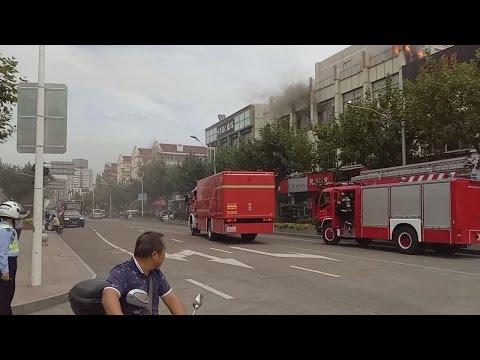 【RARE SIREN】ShangHai fire engine responding!