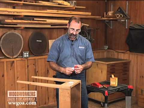 Woodworking Tip Finishing How To Repair Wood Cracks