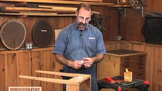 Woodworking Tip: Finishing - How To Repair Wood Cracks