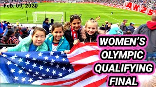 CONCACAF WOMEN'S OLYMPIC QUALIFYING | USWNT vs CANADA | Dignity Health Sports Park |Feb.9,2020| AK25