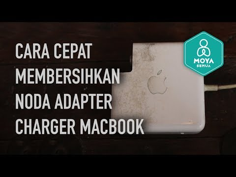 HOW TO CLEAN YOUR MACBOOK PRO ADAPTER CHARGER (MAGSAFE)