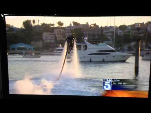 Channel 5 News Report on Jetpack World Record