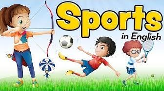 Sport auf Englisch - Vokabeln für Anfänger und Kinder (Sports)