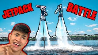 EPIC JOUSTING BATTLE on Water JetPack (G0NE WRONG)